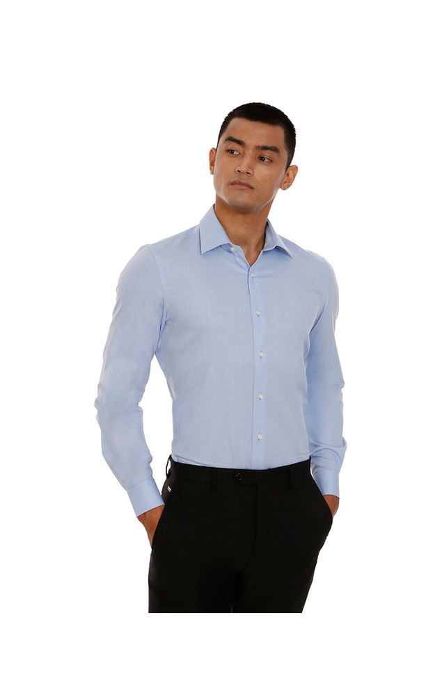 CAMISA-LISA-M-L-CONTEMP-ITALIANO-SLIM---AZUL-CLARO