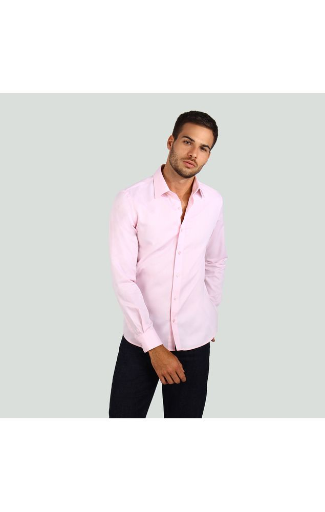 Camisa-Office-Ml-Micro-Listras-Rosa-