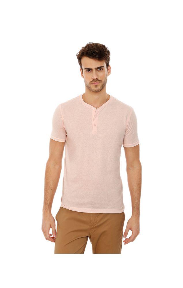 T-Shirt-Mc-Linho-Henley-Rosa-Claro-